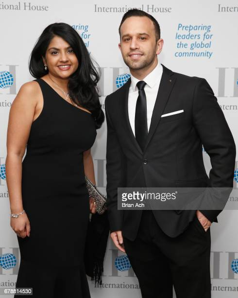 Mellon Vice President and Counsel Seema Phekoo and BNY Mellon Managing Counsel and Director Charles Post attend the International House 2017 Awards...