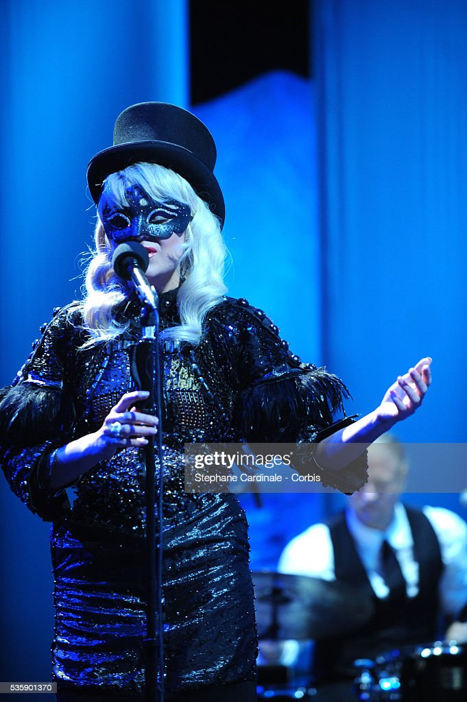 Melodie Gardot at the Opening Ceremony of the 63rd Cannes International Film Festival