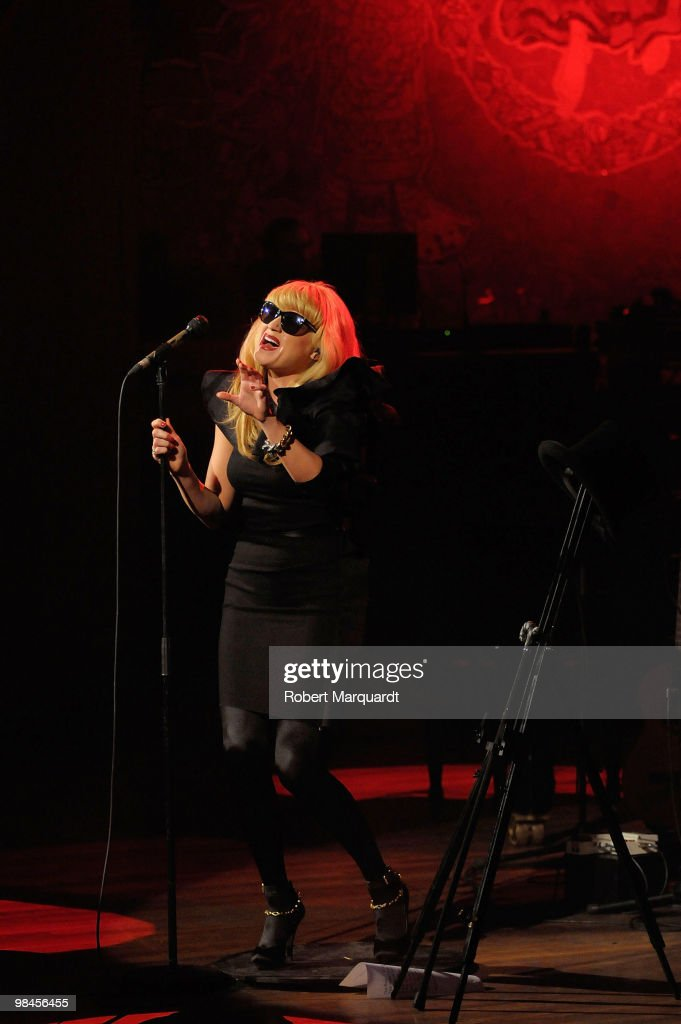 Melody Gardot Performs in Concert in Barcelona