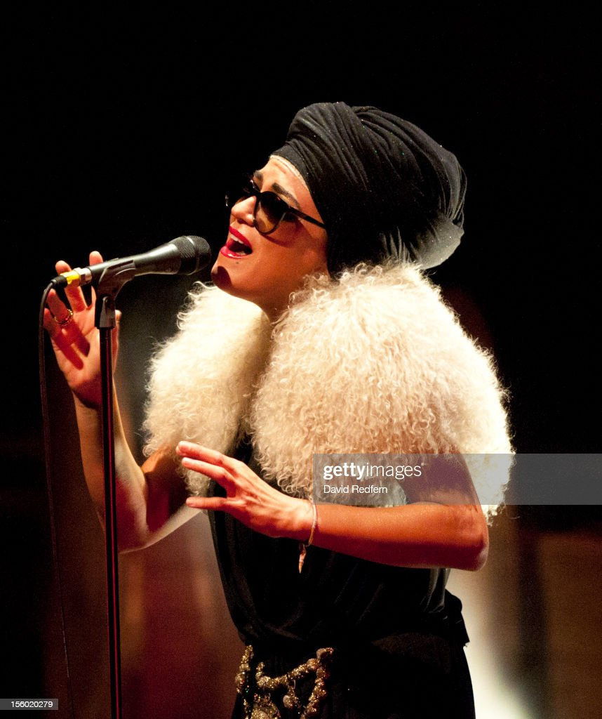 <a gi-track='captionPersonalityLinkClicked' href=/galleries/search?phrase=Melody+Gardot&family=editorial&specificpeople=4648334 ng-click='$event.stopPropagation()'>Melody Gardot</a> performs on stage at Barbican for the London Jazz Festival on November 10, 2012 in London, United Kingdom.