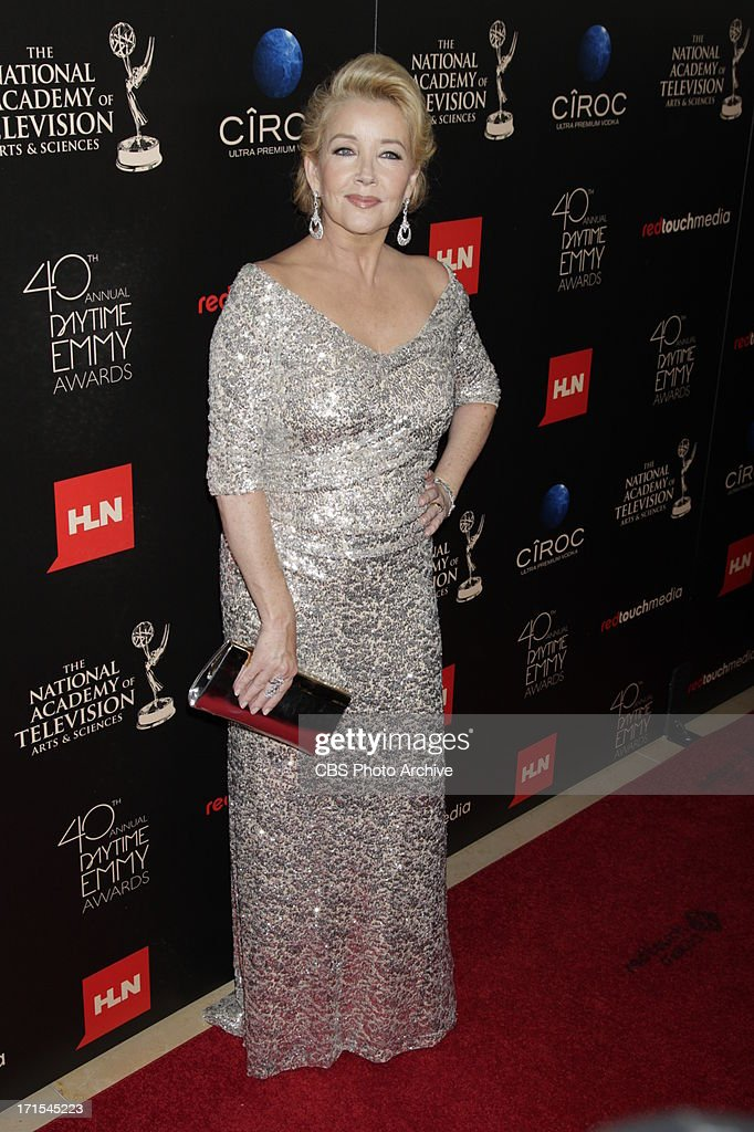 Melody Scott Thomas of The Young and the Restless on the red carpet at THE 40TH ANNUAL DAYTIME ENTERTAINMENT EMMY AWARDS at THE BEVERLY HILTON in Los Angeles.