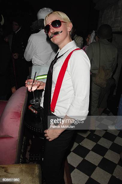 Melody Seiling attends V MAGAZINE Halloween Party at Rose Bar Gramercy Park Hotel NYC on October 31 2007