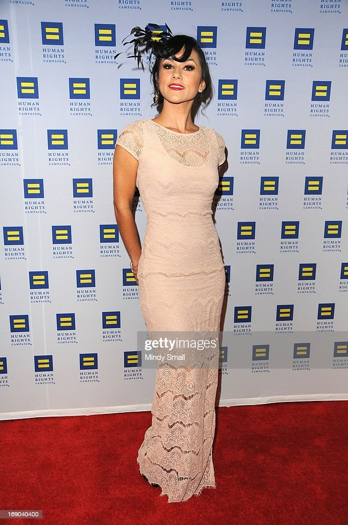 Melody Sweets attends the 8th Annual Human Rights Campaign Dinner Gala at the Aria Resort & Casino on May 18, 2013 in Las Vegas, Nevada.