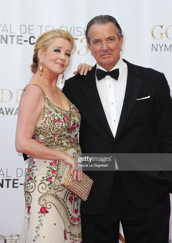 Melody Thomas Scott and Eric Braeden attend the closing ceremony of the 53rd Monte Carlo TV Festival on June 13, 2013 in Monte-Carlo, Monaco.