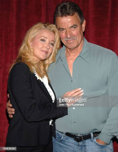 Melody Thomas Scott and Eric Braeden during 'The Young and The Restless' Celebrate 900 Weeks as The Rated Daytime Drama at CBS Studios in Los Angeles...