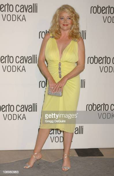 Melody Thomas Scott during Fashion Designer Roberto Cavalli Celebrates The Launch Of 'Roberto Cavalli Vodka' Arrivals at Private Residence in Holmby...