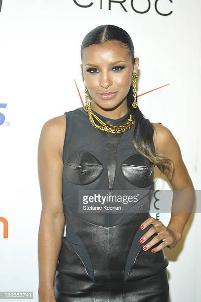 Melody Thornton arrives at the 'Creme of the Crop' Dinner sponsored by Asics at Mr Chow on June 27 2010 in Beverly Hills California