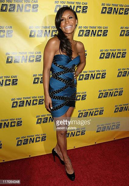 Melody Thornton attends the 'So You Think You Can Dance' new season premiere viewing party at Trousdale on May 27 2010 in West Hollywood California