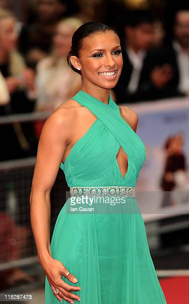 Melody Thornton attends the UK Film Premiere of Larry Crowne at Vue Westfield on June 6 2011 in London England