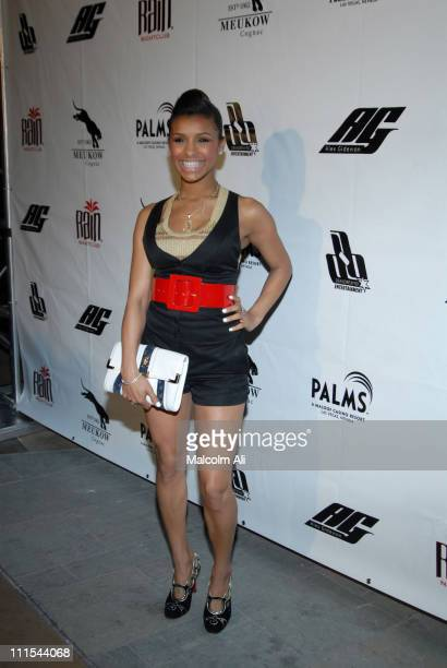 Melody Thornton during 2007 NBA AllStar in Las Vegas Rain Nightclub at The Palms Hotel and Casino NBA All Star Weekend at Rain Nightclub in Las Vegas...