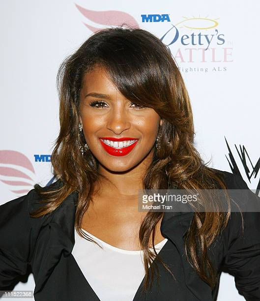 Melody Thornton of Pussycat Dolls arrives to WWE's Summer Slam Kickoff Party held at hwood on August 21 2009 in Hollywood California