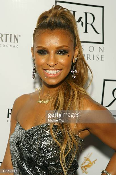 Melody Thornton of The Pussycat Dolls arrives at the 'Creme of the Crop' BET Awards afterparty hosted by Interscope Geffen and AM Records held at Mr...