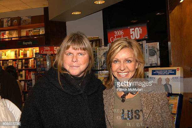 Melody Weir and Sue Chalom attend Matthew Modine Book Signing for FULL METAL JACKET DIARY at Barnes Noble Book Store on January 4 2006 in New York...