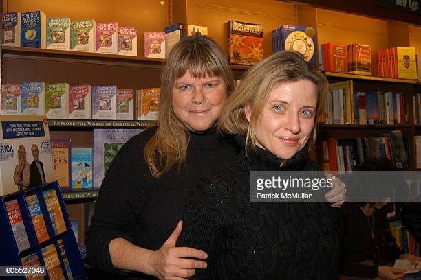 Melody Weir and Vanina Holasek attend Matthew Modine Book Signing for FULL METAL JACKET DIARY at Barnes Noble Book Store on January 4 2006 in New...