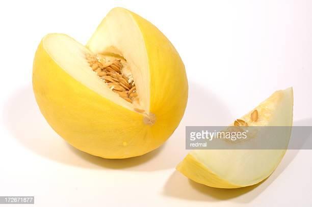 Melone und slice
