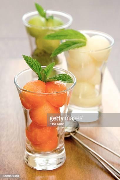 Melon dessert