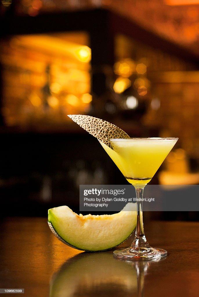 Melon Martini : Stock Photo