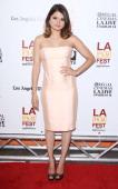 Melonie Diaz arrives at the 2013 Los Angeles Film Festival 'Fruitvale Station' premiere held at Regal Cinemas LA LIVE Stadium 14 on June 17 2013 in...