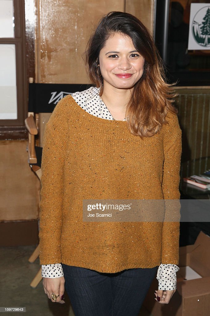 Melonie Diaz attends Day 1 of the Variety Studio at 2013 Sundance Film Festival on January 19, 2013 in Park City, Utah.