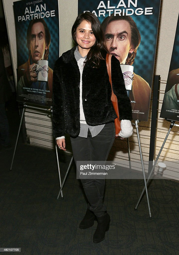 <a gi-track='captionPersonalityLinkClicked' href=/galleries/search?phrase=Melonie+Diaz&family=editorial&specificpeople=3323742 ng-click='$event.stopPropagation()'>Melonie Diaz</a> attends the 'Alan Partridge' New York screening at Landmark's Sunshine Cinema on April 2, 2014 in New York City.