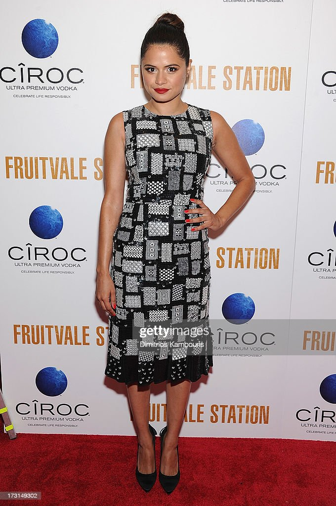 Melonie Diaz attends the 'Fruitvale Station' screening at the Museum of Modern Art on July 8 2013 in New York City
