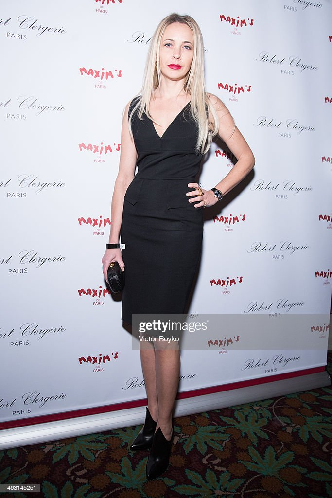 Melonie Hennessy attends the celebration launch of first Robert Clergerie Homme Menswear Fall/Winter 2014-2015 collection as part of Paris Fashion Week on January 16, 2014 in Paris, France.