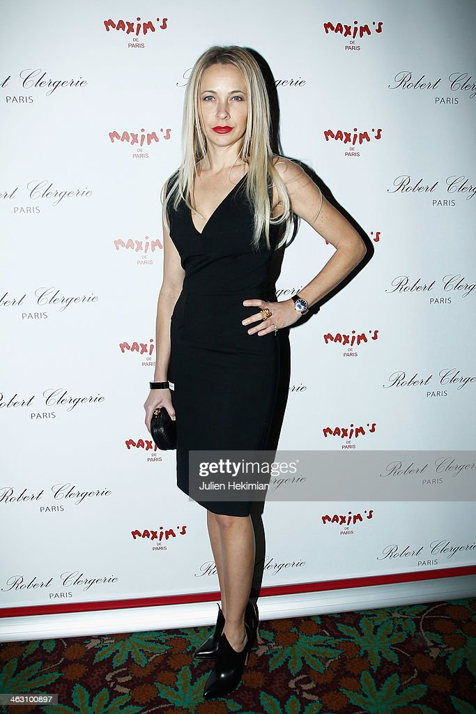 Melonie Hennessy attends the Robert Clergerie and Roland Mouret Cocktail Party as part of Paris Fashion Week on January 16, 2014 in Paris, France.