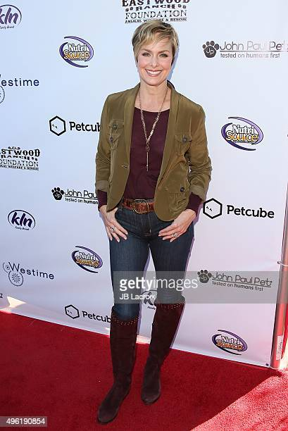 Melora Hardin attends Eastwood Ranch Foundations hosts 1st annual Fall Garden Party Animal Rescue Fundraiser at at Malibu Family Wines on November 7...