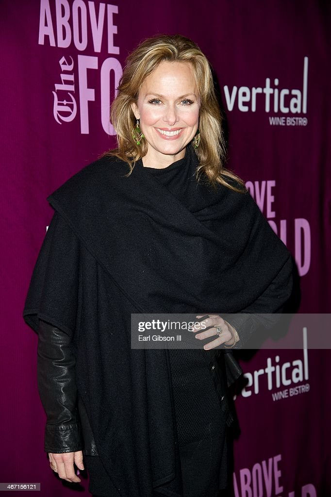 <a gi-track='captionPersonalityLinkClicked' href=/galleries/search?phrase=Melora+Hardin&family=editorial&specificpeople=233545 ng-click='$event.stopPropagation()'>Melora Hardin</a> attends the opening night performance of 'Above the Fold' at Pasadena Playhouse on February 5, 2014 in Pasadena, California.