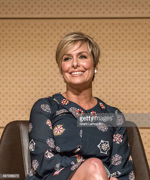 Melora Hardin attends the SAGAFTRA Foundation's Conversations Series Presents 'Transparent' at The New School on November 15 2015 in New York City