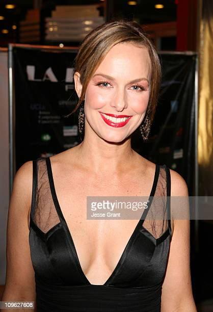 Melora Hardin during 2nd Annual La Femme International Film Festival Award Ceremony at Fine Arts Theatre in Beverly Hills California United States