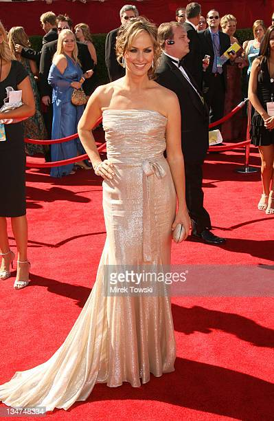 Melora Hardin during 58th Annual Primetime Emmy Awards Arrivals at Shrine Auditorium in Los Angeles California United States