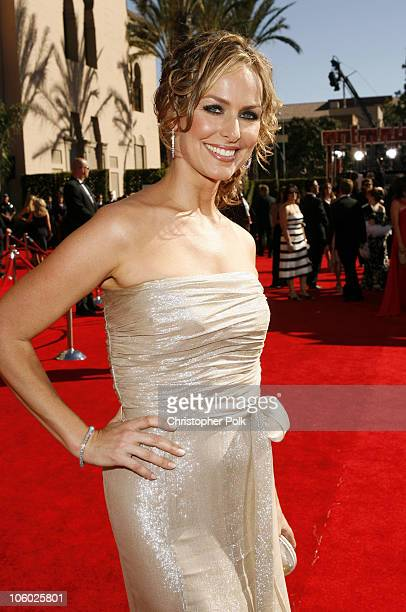 Melora Hardin during 58th Annual Primetime Emmy Awards Red Carpet at The Shrine Auditorium in Los Angeles California United States