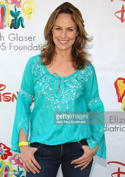 Melora Hardin during 'A Time For Heroes' Sponsored by Disney to Benefit the Elizabeth Glaser Pediatric AIDS Foundation Arrivals at Wadsworth Theater...