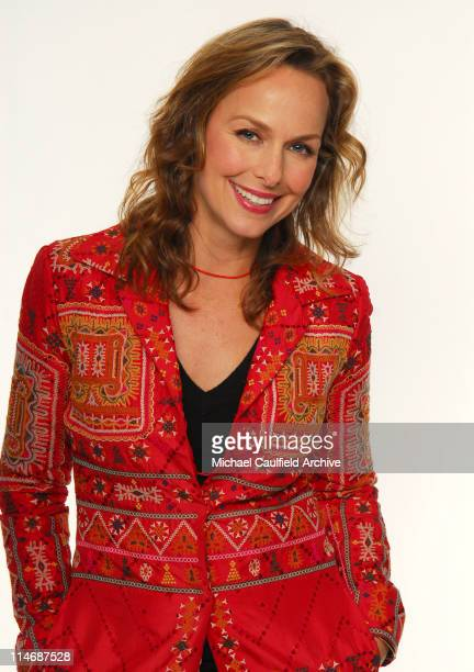 Melora Hardin during Access Hollywood 'Stuff You Must' Lounge Day 1 Portraits at Sofitel LA in Los Angeles California United States