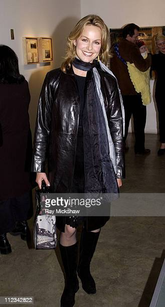 Melora Hardin during Art of Elysium's MultiMedia Exhibition from artist Shane Edelman hosted by Michael Rapaport and Brad Rowe at Don O'Melveney...
