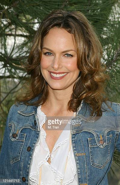Melora Hardin during EMA and E Entertainment Television Tree Planting Event April 4 2007 at Tree People's Headquarters in Coldwater Canyon Park in...