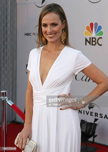 Melora Hardin during Focus Features and Universal's 2007 Golden Globe After Party Arrivals at Beverly Hilton in Los Angeles California United States