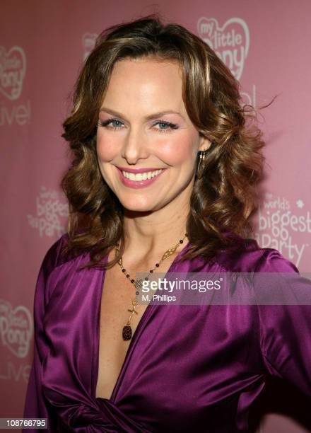 Melora Hardin during 'My Little Pony Live' Los Angeles Premiere Red Carpet at Kodak Theatre in Hollywood California United States