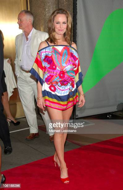 Melora Hardin during NBC 20072008 Primetime Preview Red Carpeti Upfronts Arrivals at Radio City Music Hall in New York City New York United States