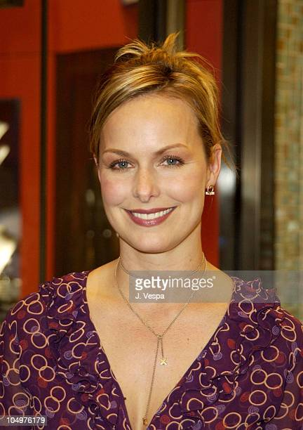 Melora Hardin during Vogue Takes Beverly Hills Daniel Swarovski Party at Daniel Swarovski Store at Hollywood Highland in Hollywood California United...