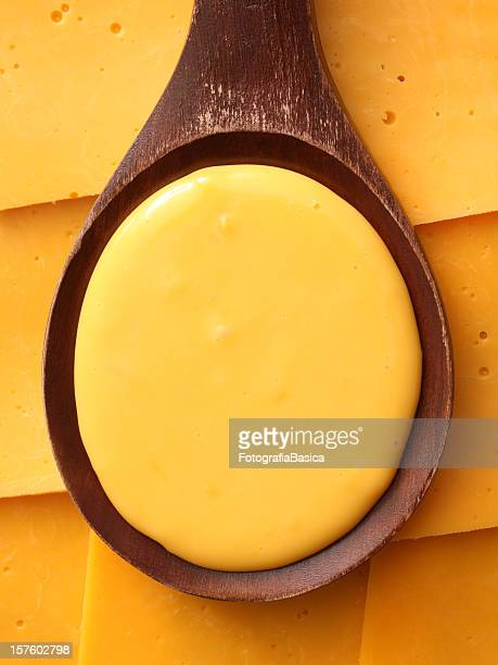 Melted cheddar