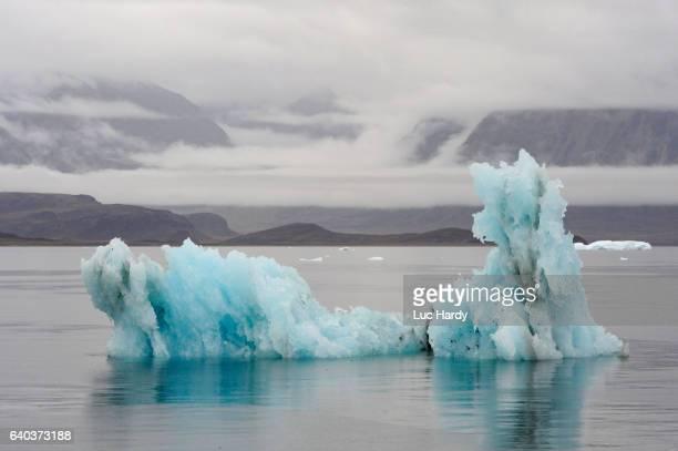 Melting blue Iceberg