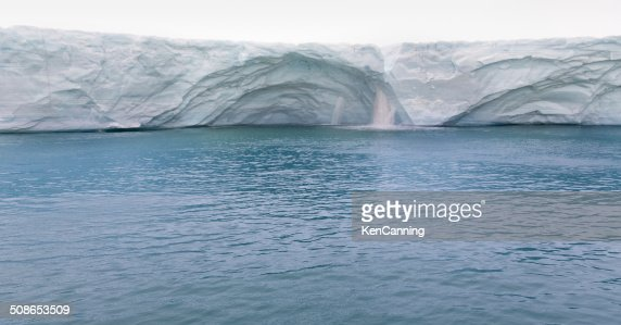 Melting Glacier : Stock Photo
