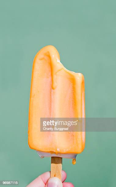 Melting Orange Popsicle