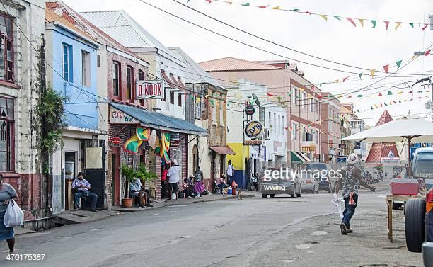 Melville Street in St. George's Grenada