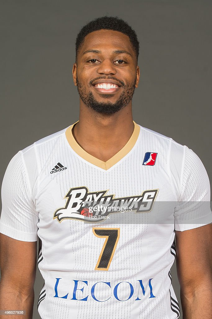 <a gi-track='captionPersonalityLinkClicked' href=/galleries/search?phrase=Melvin+Ejim&family=editorial&specificpeople=7493276 ng-click='$event.stopPropagation()'>Melvin Ejim</a> #7 of the Erie Bayhawks poses for a head shot during media day on November 9, 2015 at the Tullio Arena in Erie, Pennsylvania.