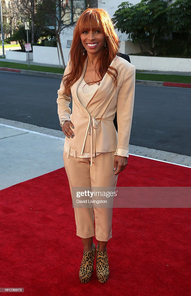 Melvin Franklin widow Kim English attends The Recording Academy Special Merit Awards Ceremony at the Wilshire Ebell Theatre on February 9, 2013 in Los Angeles, California.