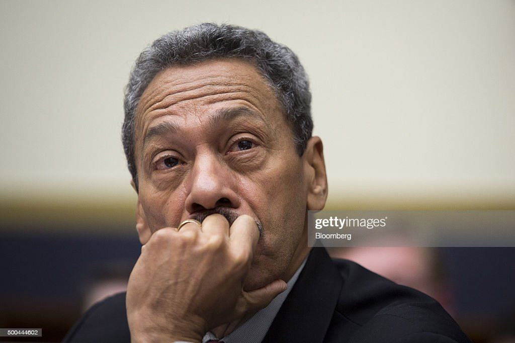 Melvin 'Mel' Watt director of the Federal Housing Finance Agency listens during a House Financial Services Committee hearing in Washington DC US on...
