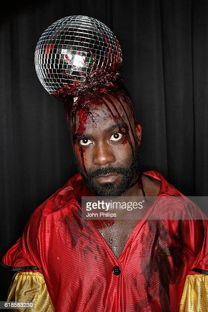 Melvin Odoom attends a drinks reception at the Kiss FM Haunted House Party at SSE Arena on October 27 2016 in London England